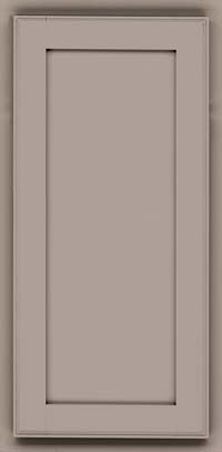 Square Recessed Panel - Veneer (AC4M) Maple in Pebble Grey - Wall