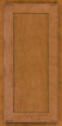 Square Recessed Panel - Veneer (AC4M) Maple in Praline - Wall