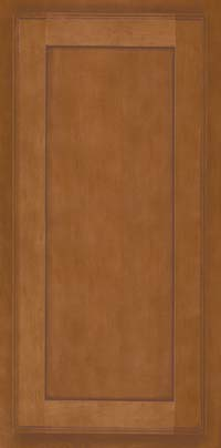 Square Recessed Panel - Veneer (AC4M) Maple in Praline w/Mocha Highlight - Wall