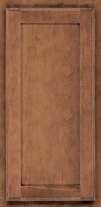 Square Recessed Panel - Veneer (AC4M) Maple in Rye - Wall