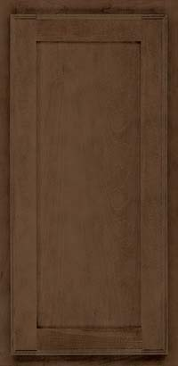 Square Recessed Panel - Veneer (AC4M) Maple in Saddle Suede - Wall
