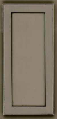 Square Recessed Panel - Veneer (AC4M) Maple in Sage w/Onyx Glaze - Wall