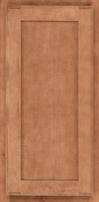 Square Recessed Panel - Veneer (AC4M) Maple in Toffee - Wall