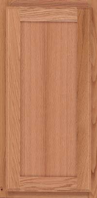 Square Recessed Panel - Veneer (AC4O) Oak in Natural - Wall
