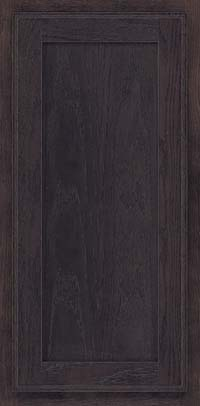 Square Recessed Panel - Veneer (AC4O) Oak in Slate - Wall