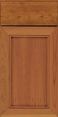 Square Recessed Panel - Veneer (AC1C) Cherry in Cinnamon - Base