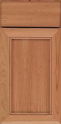 Square Recessed Panel - Veneer (AC1C) Cherry in Natural - Base