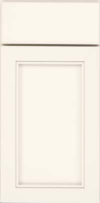 Square Recessed Panel - Veneer (AC1M) Maple in Canvas - Base