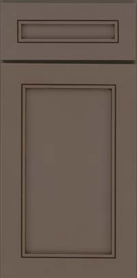 Square Recessed Panel - Veneer (AC1M) Maple in Greyloft w/ Sable Glaze - Base
