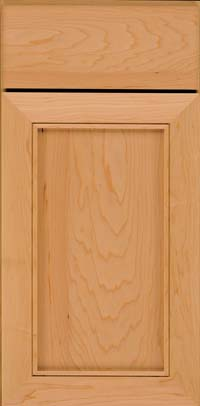 Square Recessed Panel - Veneer (AC1M) Maple in Honey Spice - Base