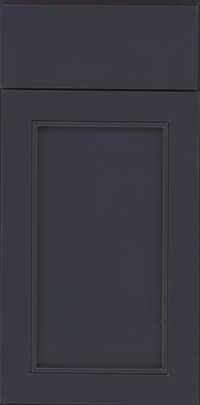 Square Recessed Panel - Veneer (AC1M) Maple in Midnight - Base