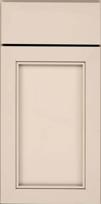 Square Recessed Panel - Veneer (AC1M) Maple in Mushroom - Base