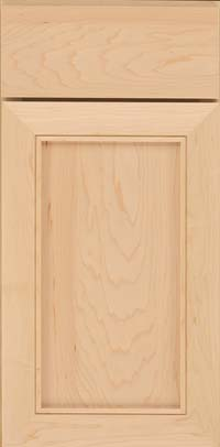 Square Recessed Panel - Veneer (AC1M) Maple in Natural - Base