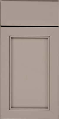 Square Recessed Panel - Veneer (AC1M) Maple in Pebble Grey - Base