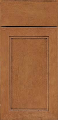 Square Recessed Panel - Veneer (AC1M) Maple in Praline - Base