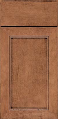 Square Recessed Panel - Veneer (AC1M) Maple in Rye - Base