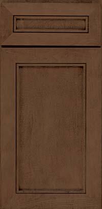 Square Recessed Panel - Veneer (AC1M) Maple in Saddle - Base