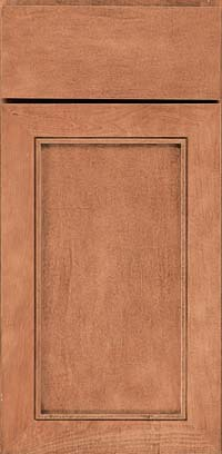 Square Recessed Panel - Veneer (AC1M) Maple in Toffee - Base