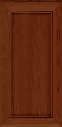 Square Recessed Panel - Veneer (AC1C) Cherry in Autumn Blush - Wall