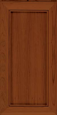 Square Recessed Panel - Veneer (AC1C) Cherry in Chocolate - Wall