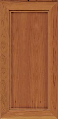 Square Recessed Panel - Veneer (AC1C) Cherry in Cinnamon - Wall