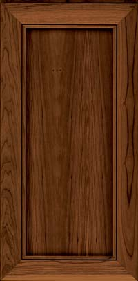 Square Recessed Panel - Veneer (AC1C) Cherry in Cognac - Wall