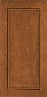 Square Recessed Panel - Veneer (AC1C) Cherry in Ginger w/Sable Glaze - Wall