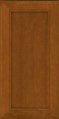 Square Recessed Panel - Veneer (AC1C) Cherry in Golden Lager - Wall