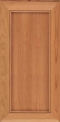Square Recessed Panel - Veneer (AC1C) Cherry in Honey Spice - Wall