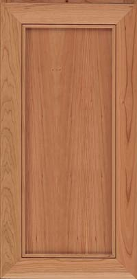 Square Recessed Panel - Veneer (AC1C) Cherry in Natural - Wall