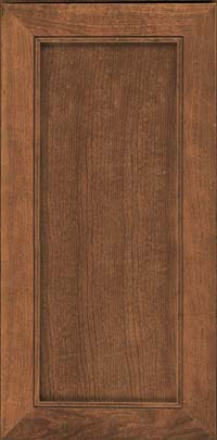 Square Recessed Panel - Veneer (AC1C) Cherry in Rye - Wall