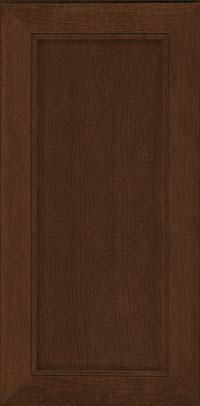 Square Recessed Panel - Veneer (AC1C) Cherry in Saddle - Wall