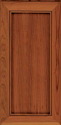 Square Recessed Panel - Veneer (AC1C) Cherry in Sunset - Wall