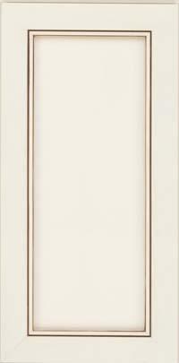 Square Recessed Panel - Veneer (AC1M) Maple in Biscotti w/Cocoa Glaze - Wall