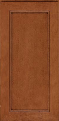 Square Recessed Panel - Veneer (AC1M) Maple in Chestnut - Wall