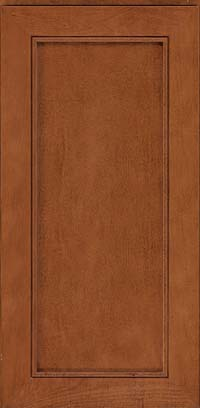 Square Recessed Panel - Veneer (AC1M) Maple in Cinnamon - Wall