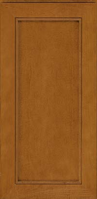 Square Recessed Panel - Veneer (AC1M) Maple in Golden Lager - Wall