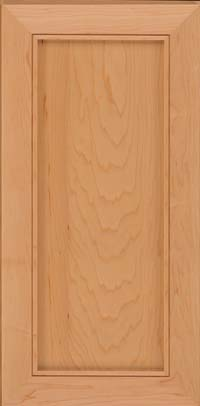Square Recessed Panel - Veneer (AC1M) Maple in Honey Spice - Wall