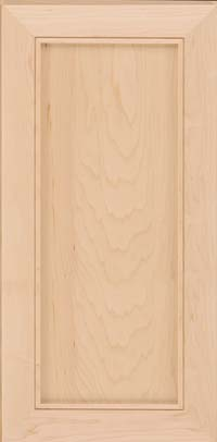 Square Recessed Panel - Veneer (AC1M) Maple in Natural - Wall