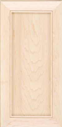 Square Recessed Panel - Veneer (AC1M) Maple in Parchment - Wall