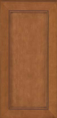 Square Recessed Panel - Veneer (AC1M) Maple in Praline w/Mocha Highlight - Wall