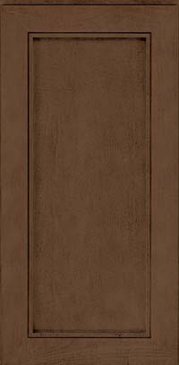 Square Recessed Panel - Veneer (AC1M) Maple in Saddle Suede - Wall