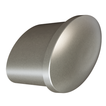 Matte Nickel Tailored Knob