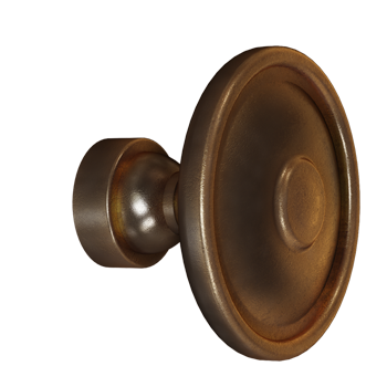 Venetian Bronze Rustic Knob