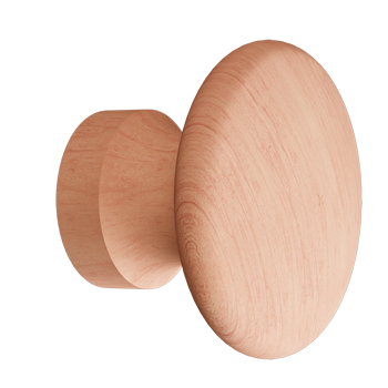 Cherry Round Knob