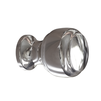 Polished Nickel Crescent Knob