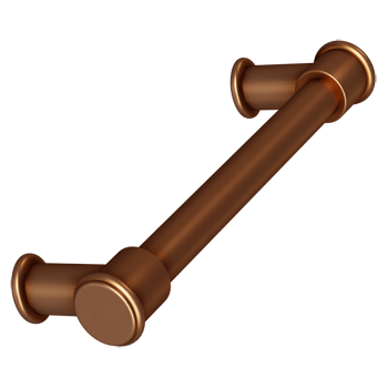 Brushed Bronze Baluster Pull