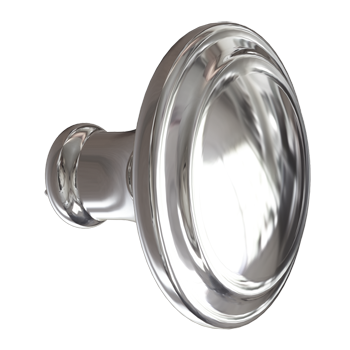 Polished Nickel Simplicity Knob