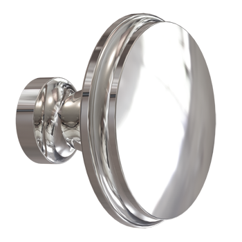 Polished Chrome Modern Knob