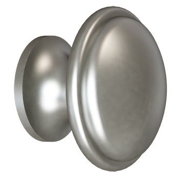 Matte Nickel Trunk Knob